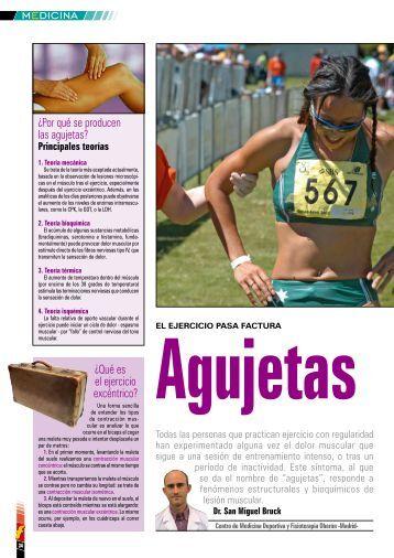 Agujetas. - Centro de Medicina Deportiva y Fisioterapia Oberón