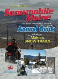 Join us at Polar Blast - Maine Snowmobile Association