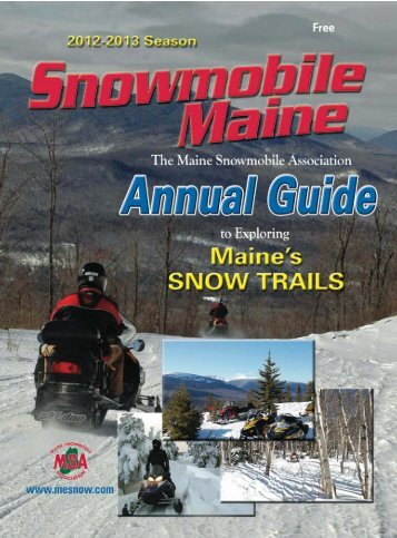 Join us at Polar Blast - Maine Snowmobile Association