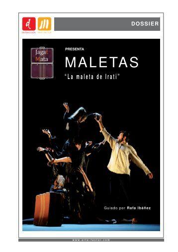 """MALETAS """"La maleta de Irati"""" - arte-factor"""