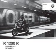 equipamiento moto original bmw motorrad