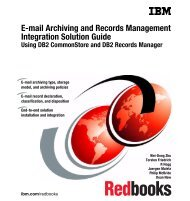 E-mail Archiving and Records Management - IBM Redbooks