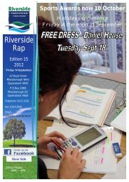 GENERAL News - Riverside Christian College