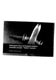 Defining the future of Hungarian aviation: Industrial concept - Index