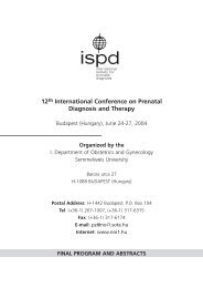 12th International Conference on Prenatal Diagnosis and Therapy