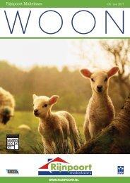 Rijnpoort Makelaars WOON magazine #35, uitgave mei 2017