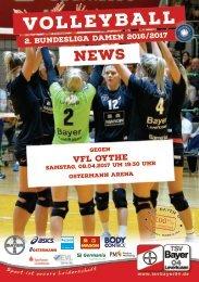 Spieltagsnews Nr. 10 gegen VfL Oythe
