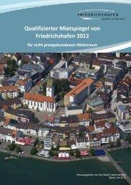 Qualifizierter Mietspiegel von Friedrichshafen 2012 für nicht ...