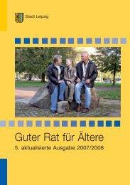 Guter Rat für Ältere - Stadt Leipzig