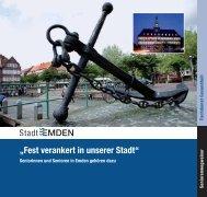"""""""Fest verankert in unserer Stadt"""" - Stadt Emden"""
