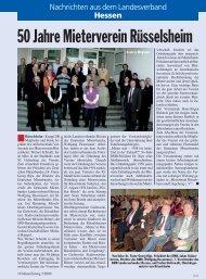 Rüsselsheim - Deutscher Mieterbund - Landesverband Hessen eV