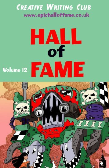 Hall of Fame Volume 12 from Creative Writing Club