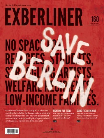 EXBERLINER Issue 160, May 2017