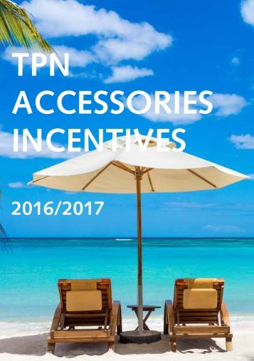 TPN AGENT INCENTIVE BOOKLET