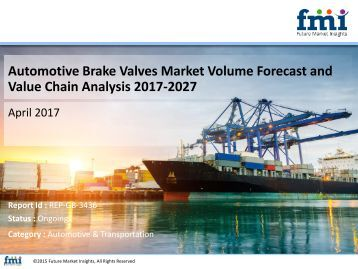 Automotive Brake Valves Market: Value Chain, Dynamics and Key Players (2017 - 2027)