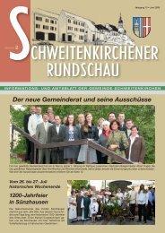 Rundschau 02/2008 - Gemeinde Schweitenkirchen