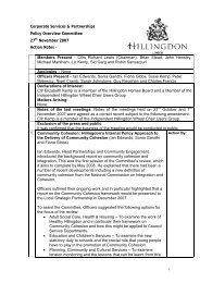 Minutes - London Borough of Hillingdon