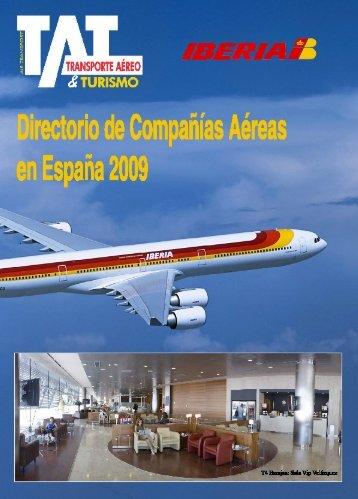 Directorio TAT 2009.qxd - TAT Revista - Transporte Aéreo & Turismo