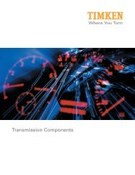 Transmission Components - Timken