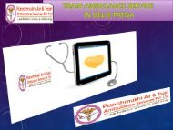 Get Low cost Train Ambulance Services in Patna and Delhi
