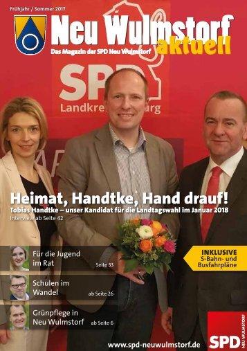 Neu Wulmstorf aktuell Frühjahr / Sommer 2017