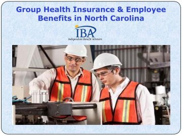Group Health Insurance & Employee Benefits in North Carolina