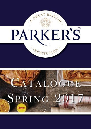 Parker's 2017 Catalogue