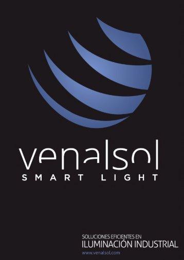 Catalogo iluminación led industrial - Venalsol ® 2017