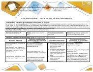 Guía de actividades - Tarea 4. la obra de arte como memoria