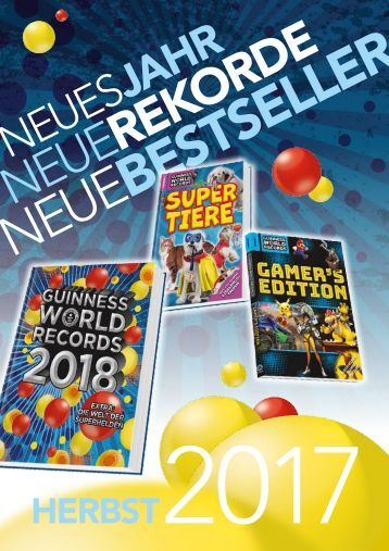 Guinness World Records Herbst 2017