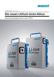 Li-Ion-Akkus
