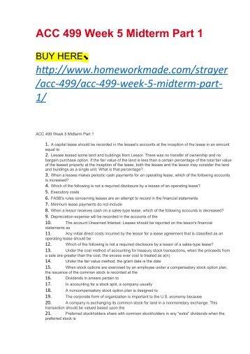 MN551 Unit 5 Mid Term Latest Version 5