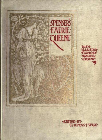 The Faerie Queene Book V