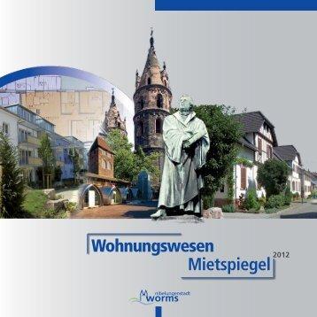 Mietspiegel 2012 - Worms