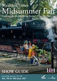 Showguide | MSF17 | Wealden Times Midsummer Fair 2017