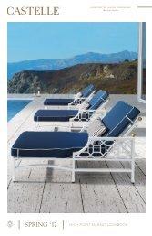 Castelle High Point Lookbook   Spring 2017