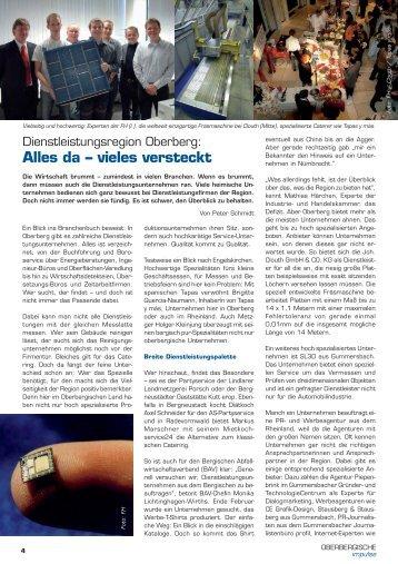 da – vieles versteckt - und TechnologieCentrum Gummersbach GmbH