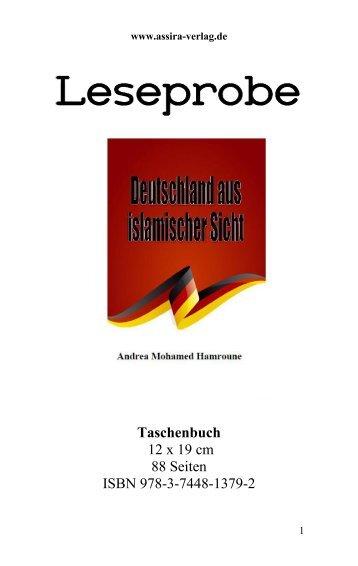 Leseprobe Deutschland aus islamischer Sicht von Andrea Mohamed Hamroune