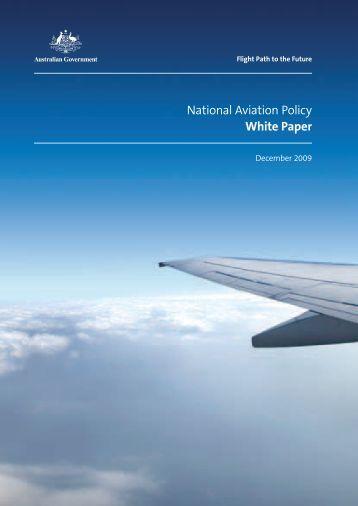 Australian Aviation Policy Whitepaper