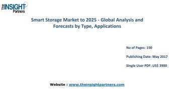 Global Smart Storage Industry Growth, Trends, Industry Analysis and Forecast to 2025