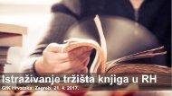 GfK - Istraživanje tržišta knjiga u Hrvatskoj - 2017