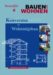Konversion im Wohnungsbau - Finanzministerium Rheinland-Pfalz