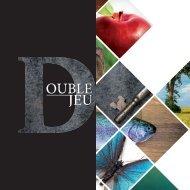 Double jeu par Julie Vaillancourt et Daniel Lebarbé