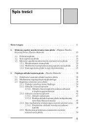 Zobacz spis treści (PDF) - Wydawnictwo Lekarskie PZWL
