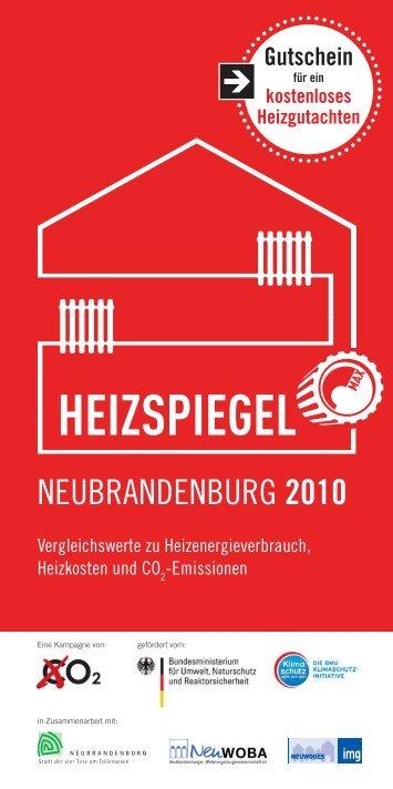 NEUBRANDENBURG 2010 - Heizspiegel