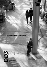 Besser Schulsozialarbeit - GEW Landesverband Bayern
