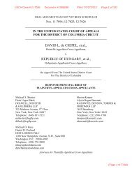 Response/Principal Brief of Plaintiffs- Appellees/Cross-Appellants