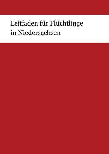 Leitfaden für Flüchtlinge in Niedersachsen - Gutscheingruppe
