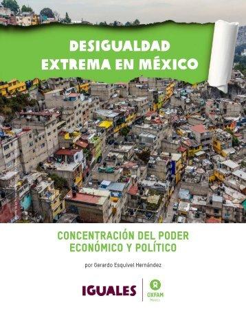 ESEQUIVEL, Gerardo, Desigualdad extrema