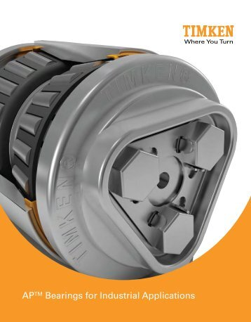 AP Bearings for Industrial Applications - Timken